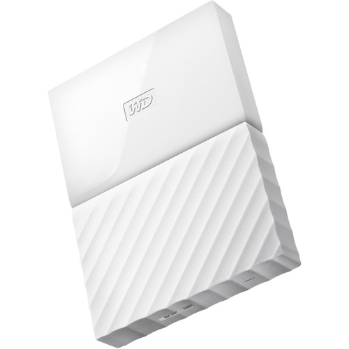 WD 3TB My Passport USB 3.0 Secure Portable Hard Drive (White)