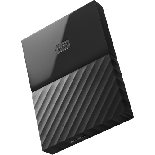 WD 1TB My Passport USB 3.0 Secure Portable Hard Drive (Black)