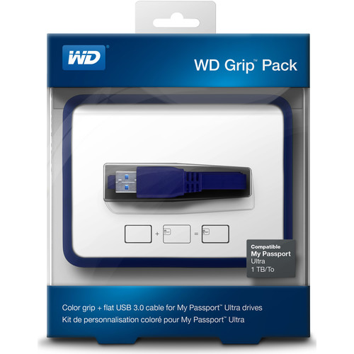WD Grip Pack for 1TB My Passport Ultra (Slate)