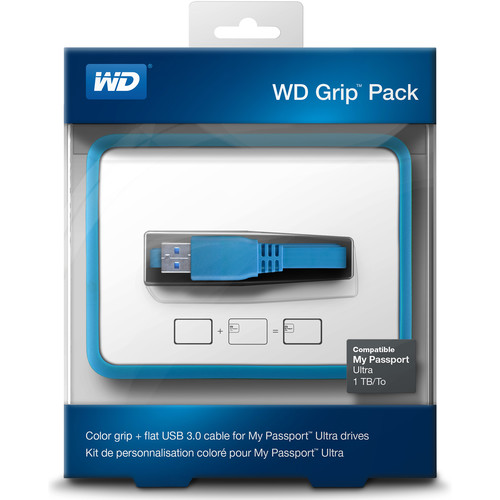 WD Grip Pack for 1TB My Passport Ultra (Sky)