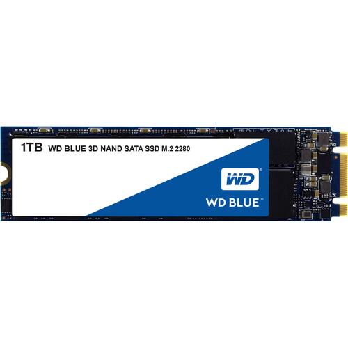 WD 1TB Blue 3D NAND SATA III M.2 2280 Internal SSD