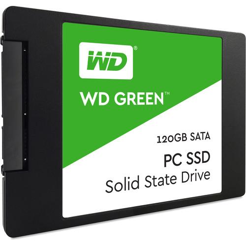 """WD 120GB Green SATA III 2.5"""" Internal SSD"""
