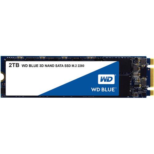 WD 2TB Blue 3D NAND SATA III M.2 2280 Internal SSD