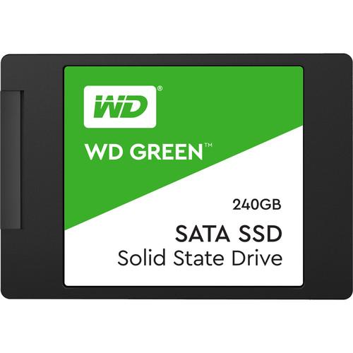 """WD 240GB Green SATA III 2.5"""" Internal SSD"""