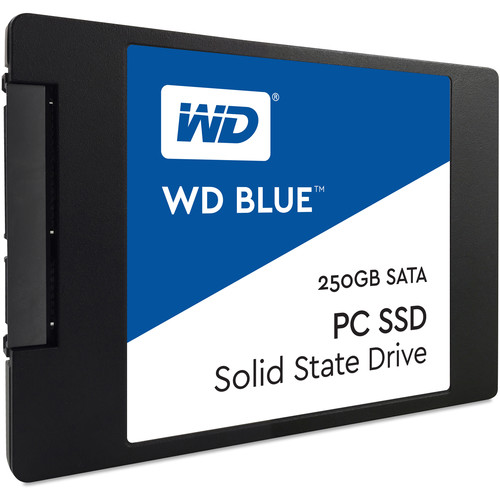 """WD 250GB Blue SATA III 2.5"""" Internal SSD"""