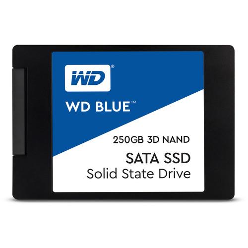 """WD Blue 3D NAND SATA 2.5"""" SSD (250GB)"""