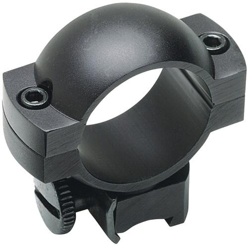 Weaver Simmons Weaver Mount Ring Pair (30mm, Aluminum, High, Matte Black)