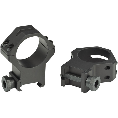 Weaver 4-Hole Tactical 30mm Picatinny Mounting Rings (High, Matte)