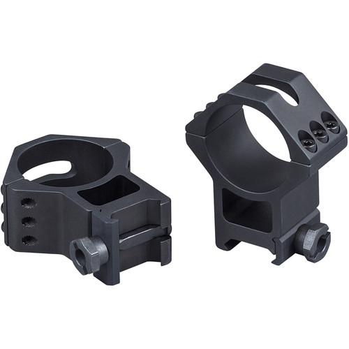 Weaver Six Hole Picatinny Rings for 34mm Maintubes (High, Matte Black)