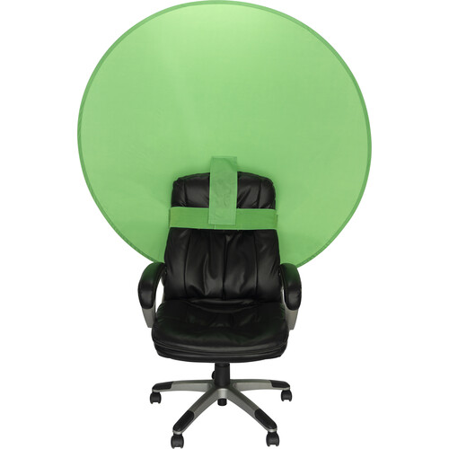"""Webaround The Big Shot Collapsible Portable Webcam Backdrop (56"""", Green)"""