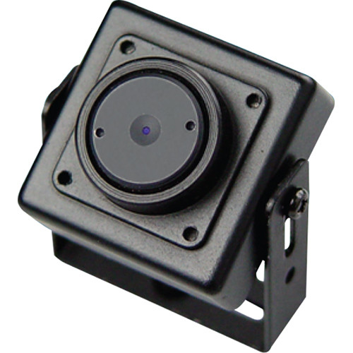 Weldex WDH-3200CP 600TVL Day/Night Miniature Covert Square Camera with 3.6mm Fixed Pinhole Lens