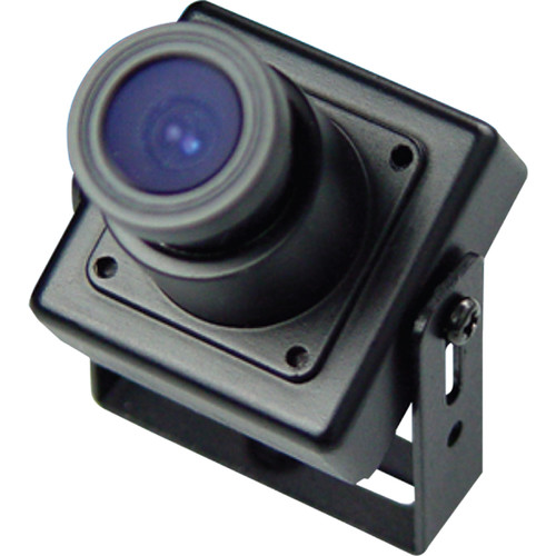 Weldex WDH-3200CS 600TVL Day/Night Miniature Covert Square Camera with 3.6mm Fixed Standard Lens