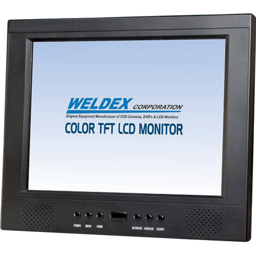 "Weldex 10.4"" Wall-Mountable TFT LCD CCTV Monitor"