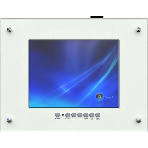 "Weldex WDL-1040MFM-HD 10.4"" Industrial TFT LCD Flush Mount Monitor"