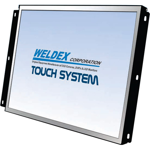 "Weldex 10.4"" Sun Readable Touchscreen Color LCD Monitor"