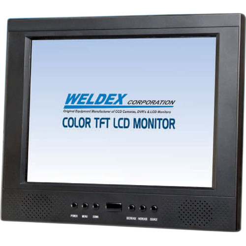 "Weldex 12.1"" Sun Readable In-Housing Monitor"