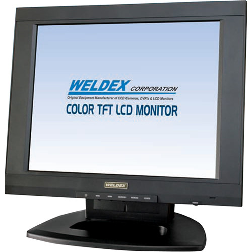 "Weldex 15"" TFT LCD Flat Screen Monitor with Built-In Speaker"
