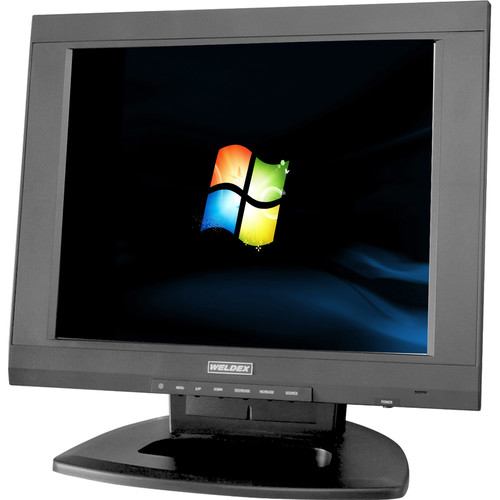 """Weldex WDL-1500M-HD 15"""" Color TFT LCD Monitor"""
