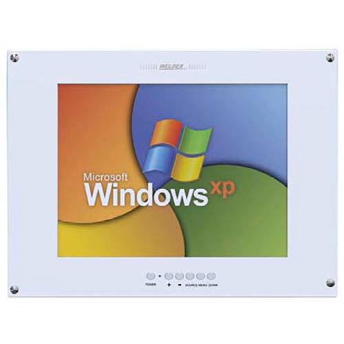 "Weldex WDL-1500MFM 15"" Industrial TFT LCD Flush Mount Monitor (White)"