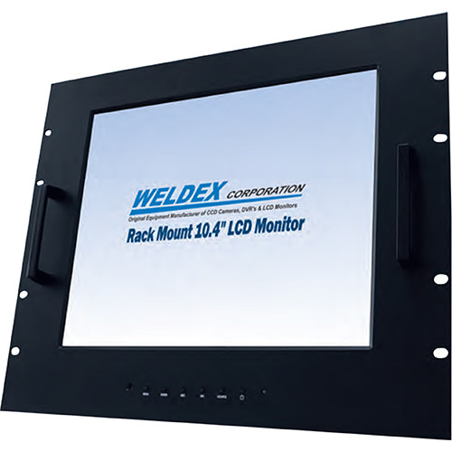 "Weldex 17"" TFT LED-Backlight LCD Flat Screen Rack Mountable Monitor"