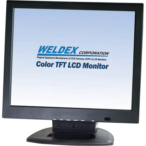 "Weldex 19"" TFT LCD Flat Screen Monitor with Built-In Speaker"