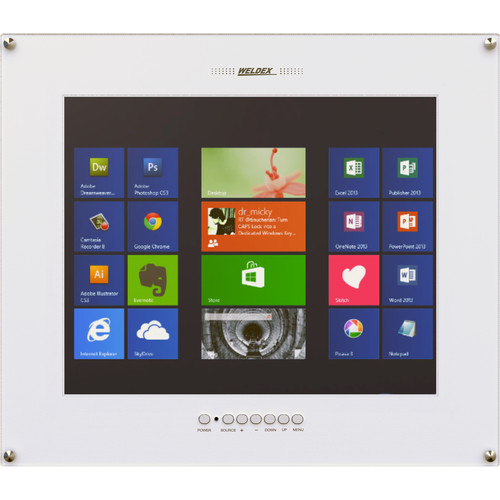 "Weldex WDL-1900MFM-HD Color 19"" Flush Mount LCD Monitor"