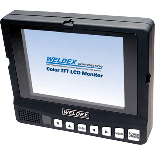 "Weldex WDL-5001M 5"" Color TFT LCD Monitor with Built-In Speaker Composite Input"
