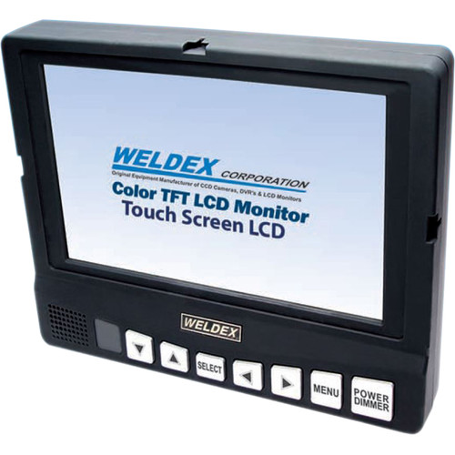 "Weldex 5"" Open-Frame Touch Screen Monitor"
