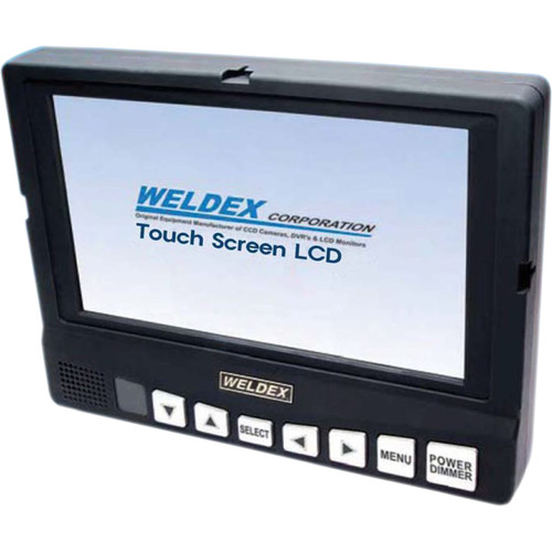 "Weldex 7"" Open-Frame Touch Screen Monitor"