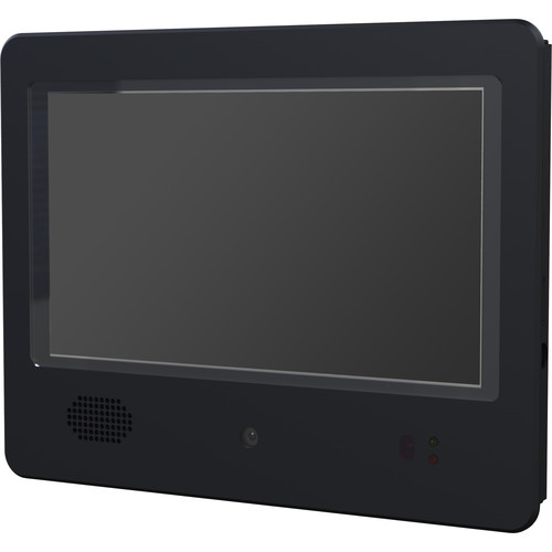 "Weldex 8"" IP Public View Monitor with 1.3MP Camera"