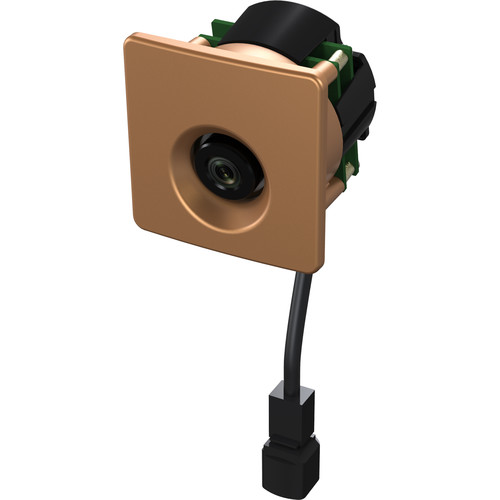 Weldex 2MP Network Mullion Camera with 2.9mm Lens (Bronze)