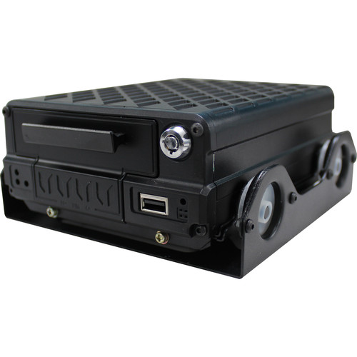 Weldex 4-Channel H.264 Mobile DVR with 2TB HDD