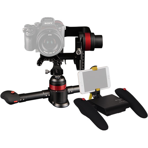 WenPod MD2 3-Axis Handheld A.I. Gimbal Stabilizer with Remote Kit