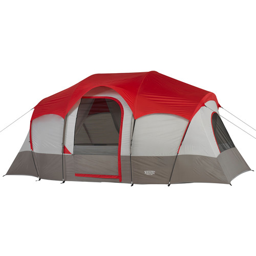 Wenzel Blue Ridge 7 Tent (Red/Gray)