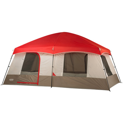 Wenzel Timber Ridge 10 Tent (Red/Gray)