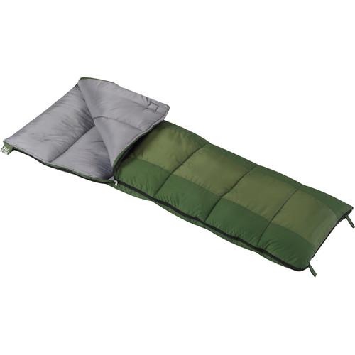 Wenzel Summer Camp 40° Sleeping Bag (Green)