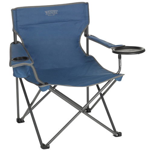 Wenzel Banquet Chair XL (Blue)
