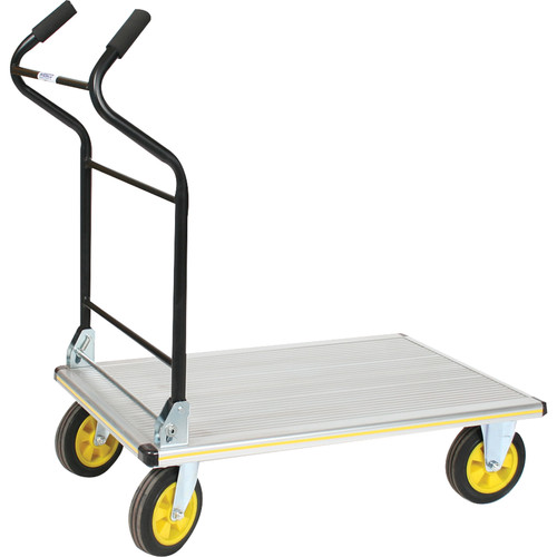 Wesco Aluminum Folding Ergo Handle Platform Truck