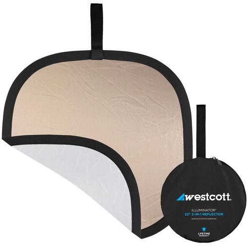 "Westcott Illuminator Collapsible 2-in-1 Sunlight/White Bounce Reflector (20"")"