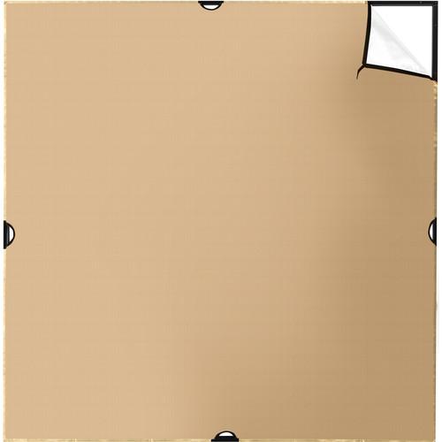 Westcott Scrim Jim Cine Gold/White Bounce Fabric (6 x 6')