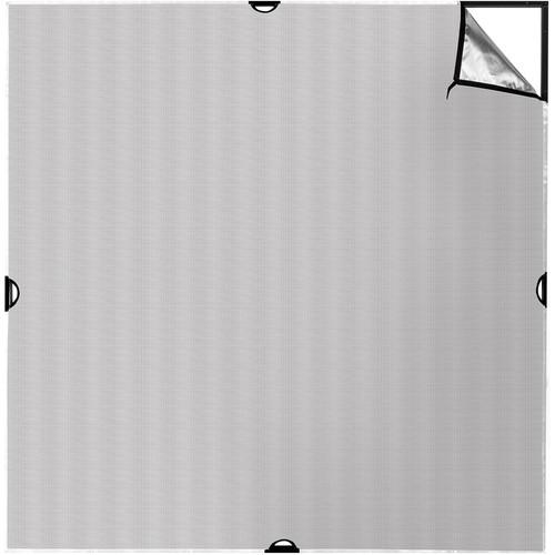 Westcott Scrim Jim Cine Silver/White Bounce Fabric (6 x 6')