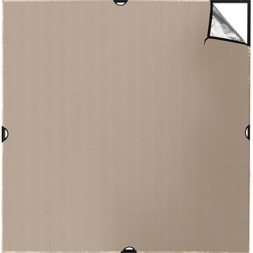 Westcott Scrim Jim Cine Sunlight/Silver Bounce Fabric (6 x 6')