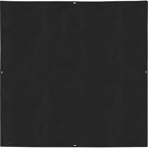 Westcott Scrim Jim Cine Solid Black Block Fabric (8 x 8')