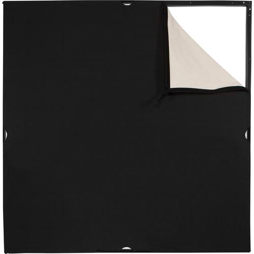 Westcott Scrim Jim Cine Unbleached Muslin/Black Fabric (4 x 4')