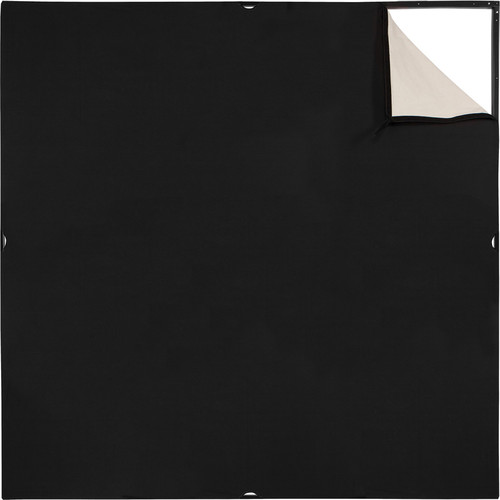 Westcott Scrim Jim Cine Unbleached Muslin/Black Fabric (6 x 6')