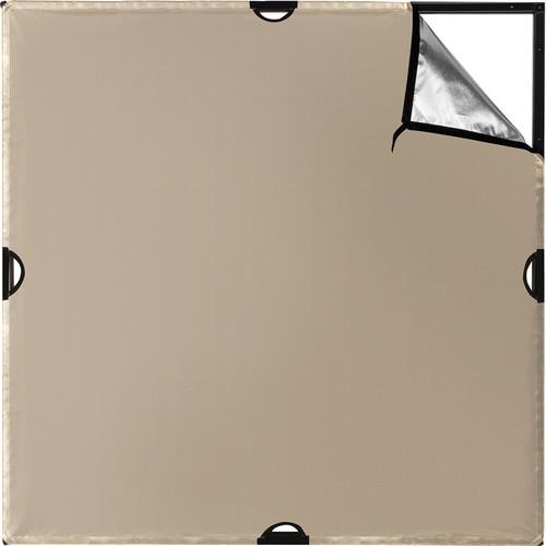 Westcott Scrim Jim Cine Sunlight/Silver Bounce Fabric (4 x 4')