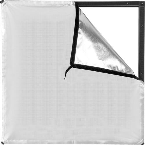 Westcott Scrim Jim Cine Silver/White Bounce Fabric (2 x 2')