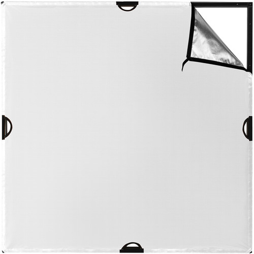 Westcott Scrim Jim Cine Silver/White Bounce Fabric (4 x 4')