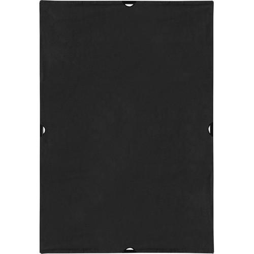 Westcott Scrim Jim Cine Solid Black Block Fabric (4 x 6')