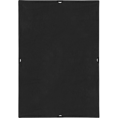 Westcott Scrim Jim Cine Solid Black Block Fabric (4 x 6')